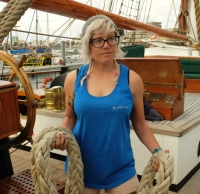 Kleidung: Damen Tanktop Eye of the Wind